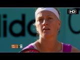 Roland Garros 2012 / 1/2 финала / Петра Квитова (Чехия) - Мария Шарапова (Россия) / Gran Tenis (исп. яз.)